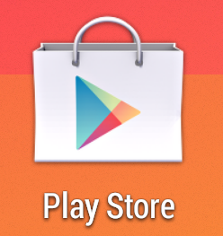 Screencap showing what the Google Play Store icon looks like