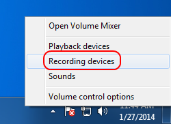 "Screencap showing where to find ""Recording devices"""