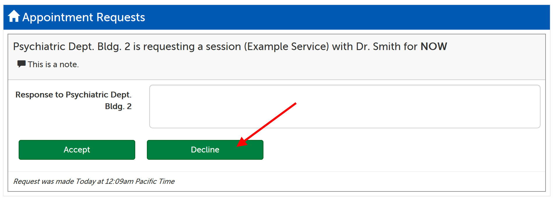 Decline option