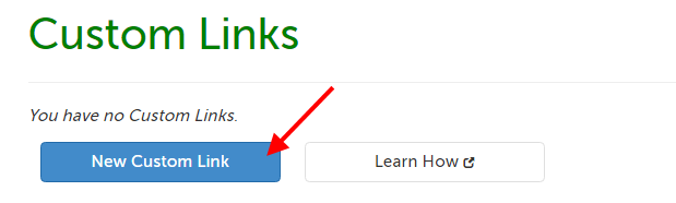 New Custom Link button