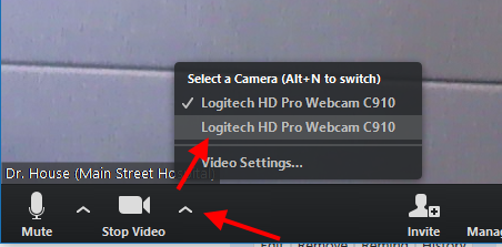 SecureVideo - Zoom: Video Settings on Mac or Windows Computer